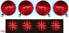 New! 1975-1982 Corvette Vette LED Tail lights set of 4 L.E.D. Bubble style Lens
