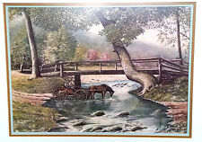 The Country Doctor by Fred Thrasher Signed Print and numbered 130 of 1000