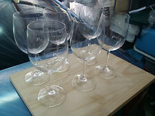 MAXWELL & WILLIAMS CUVEE WINE GLASS 550ml SET OF 6 EX DISPLAY LOCAL PICKUP