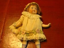New ListingAntique Bisque Doll Marked f b 620 Open Mouth Teeth Glass Sleep Eyes