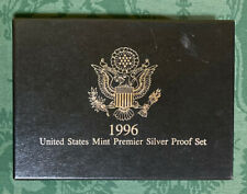United States Mint 1996 Premier Silver Proof Coin Set