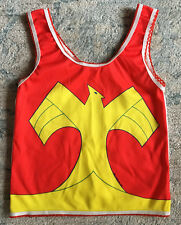 Vintage Wonder Woman Underoos Tank Top Girls Size 4-6 Small 1978 w/ package