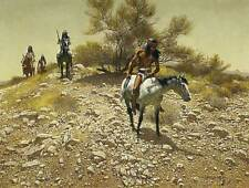 Apache Trackers - Frank McCarthy  Signed & Numbered Limited Edition Print