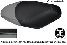 GREY AND BLACK VINYL CUSTOM FITS HONDA SES 125 DYLAN DUAL SEAT COVER ONLY