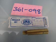 amal 361 carb  needle jet .086    361 / 098 douglas  vespa scooter nos