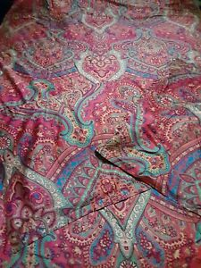 Eikei Boho Paisley Print Duvet Quilt And Shams Bohemian Damask Medallion...