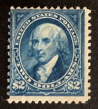 United States #262 Mlh. Average centering. $2750.00 Cv.