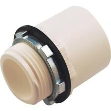 "12-Oatey Schedule 40 PVC Pipe 1"" Solvent X 1"" MIP Water Heater Pan Adapter 34088"