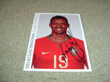 NANI - MANCHESTER UNITED & PORTUGAL - SIGNED OFFICIAL 8 X 6 PHOTO CARD