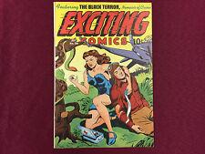 Exciting Comics 8.0 VF #56 Classic Alex Schomburg Good Girl Cover B@@yah!