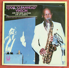 EDDIE CLEANHEAD VINSON AND THE MUSE ALLSTARS  LP ORIG FR  LIVE AT SANDY'S