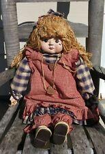 Vtg Sarah's Attic Granny's Favorites Primitive Collectable Doll Rare
