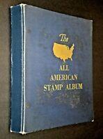 CatalinaStamps:  US Stamp Collection in 1960 Minkus Album, 1200 Stamps, D382