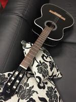 TAKAMINE GC1CE-BK Classic Elektro-Akustikgitarre