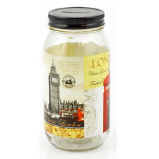 LONDON MONEY BOX COIN SAVING BANK CASH SOUVENIR LID PIGGY BANK JAR POUNDS 17CM