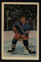 1952-53 Parkhurst #21 Allan Stanley EX/EX+ NY Rangers A4839