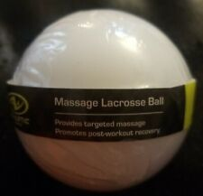 Athletic Lacrosse Balls (Muscle Relief Massage Balls) White Targeted Therapy