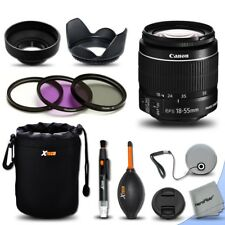 Canon EF-S 18-55mm f/3.5-5.6 IS II Lens + Essential Kit for Canon EOS 60D