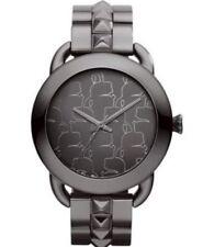 Polished Unisex Round 50 m (5 ATM) Wristwatches