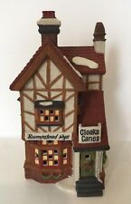 Dept 56 Bumpstead Nye Cloaks & Canes Dickens' Village Series