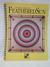 John Flynn's Feathered Sun Step-by-Step - Autographed - Quilt Book 1994