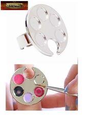 M00489 MOREZMORE Finger Ring Paint Palette for Nail Art of Mini Detail Work A60