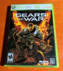 Gears Of War Microsoft Xbox 360 Epic Games Studios Dolby Digital Mature