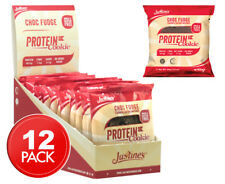 12 x Justine's Protein Cookies Choc Fudge 64g