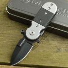 Boker Magnum Black Lightning 440 Stainless Linerlock Folding Knife 01SC148