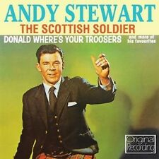 CD ANDY STEWART SCOTTISH SOLDIER DONALD WHER'S YOUR TROOSERS TAKE ME BACK etc
