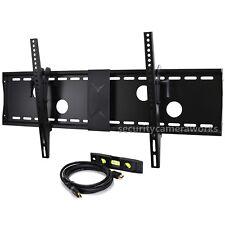 Tilt Wall Mount for LED LCD Plasma TV Samsung Sharp AQUOS Vizio 40~75 Screen bjk