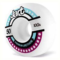 Jart Skateboards Tron Skateboard Wheels White 50mm