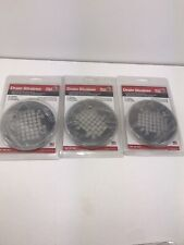 "NEW Snap-In Shower Floor Drain Strainer - Stainless  - 4 1/4"" Dia. Sioux Chief 3"