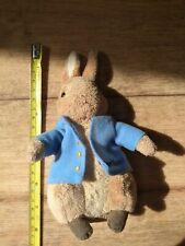 Small Peter Rabbit plush with beanie bottom       (3/10)