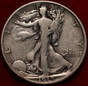 1919-S San Francisco Mint Silver Walking Liberty Half