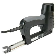 2-In-1 Stapler Brad Pin Nailer Gun Electric Tool Carpentry Upholstery Wood Shop