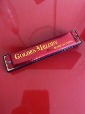 GOLDEN MELODY HARMONICA - Good Condition