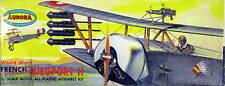 Aurora 1/48 French Nieuport 11 (FF, 79 cent issue, Box is Fair)