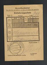1942 Krone Germany Money Oranienburg Concentration Camp Kz Johann Niemcsewski 3
