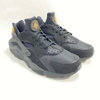 NEW NIKE AIR HUARACHE RUN ULTRA Black Running Shoes Size 15 RARE With Brown Sign