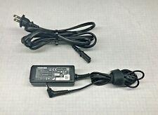 Toshiba OEM genuine 45W 19V 2.37A AC Adapter Charger ADP-45YD PA5192U-1ACA