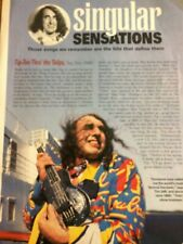 Tiny Tim, Full Page Vintage Clipping