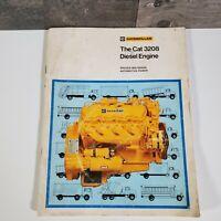 Caterpillar The Cat 3208 Diesel Engine Automotive Power Advertising Booklet