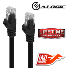ALOGIC C6-01-Black 3.2 ft Cat6 Network Cable