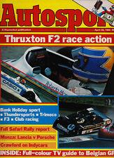 Autosport 26 Apr 1984 - Monza 1000 Kms Rothmans Porsche, Thruxton BSCC Rouse