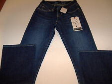 """LEVI BOLD CURVE BOOT CUT STRETCH JEANS MISSES SIZE 24"""" X 32"""" NWT"""