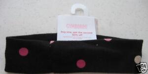 Gymboree NWT WILD ONE Black Polka Dot Headband Hair 2 2T 3 3T 4 4T 5 5T 6 7 8 9