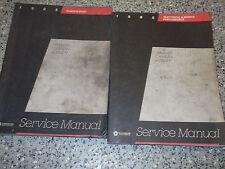 1985 DODGE RAM VAN CARAVAN PLYMOUTH VOYAGER Service Repair Shop Manual SET OEM