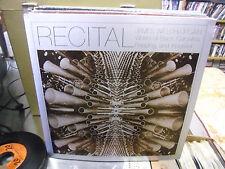 James Welch RECITAL vinyl LP 1978 private press EX [Bach Carvalho]