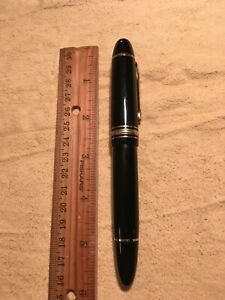 Estate Find Montblanc Meisterstuck No. 149 Ink Fountain Pen Great Project Nice!
